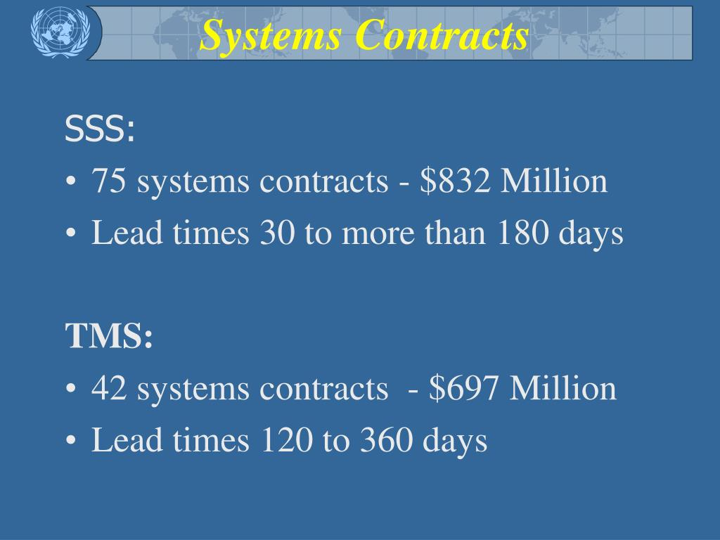 Systems Contracts