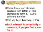 mineral resources4