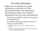 penn plaza rationale