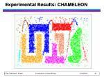 experimental results chameleon19