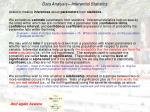 data analysis inferential statistics