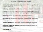 key steps in qualitative data analysis