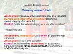 research concepts continued18