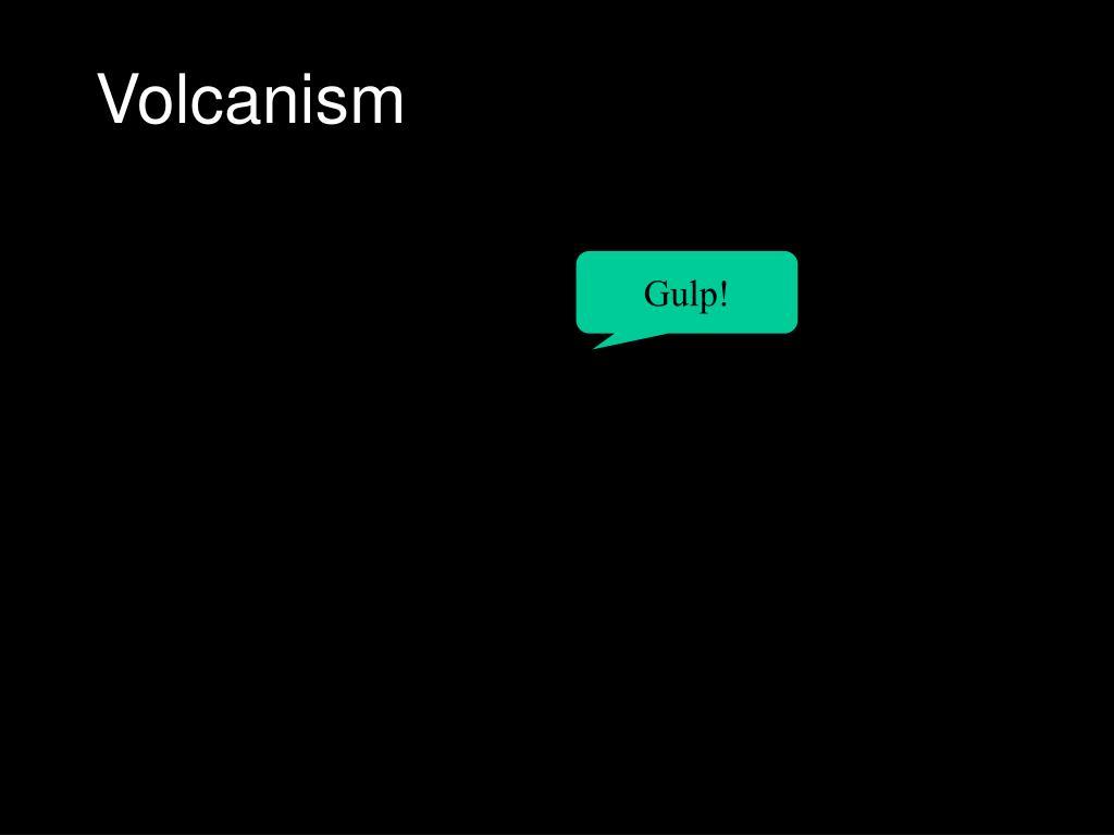 volcanism l.