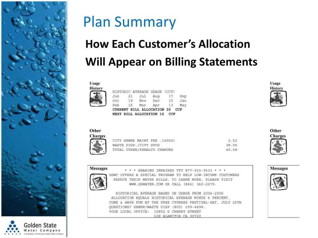 Plan Summary