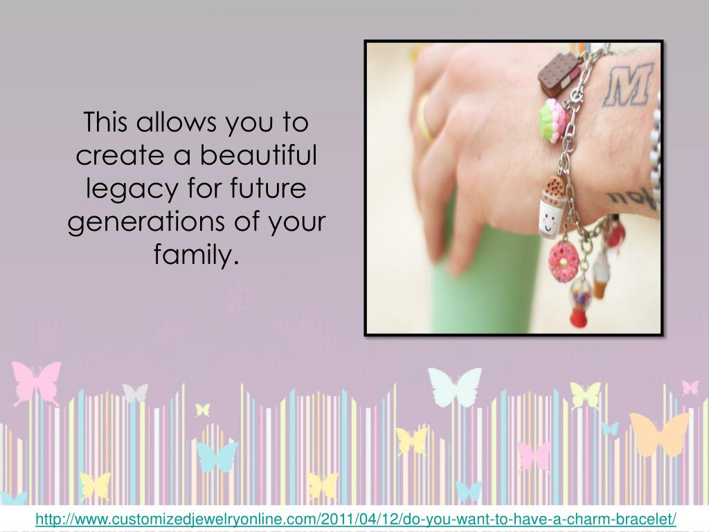 This allows you to create a beautiful legacy for future generations of your family.