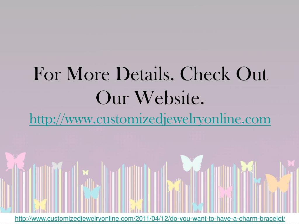 For More Details. Check Out Our Website.