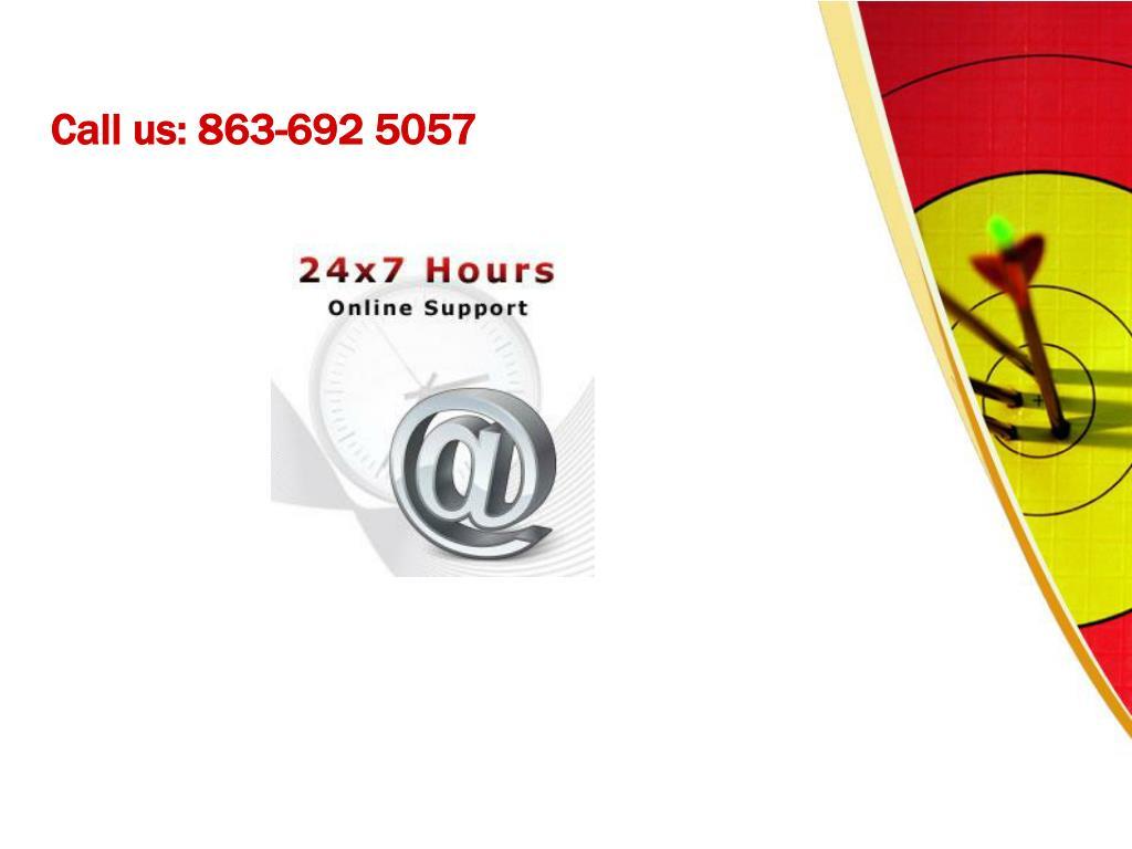 Call us: 863-692 5057
