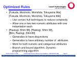optimized rules27
