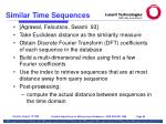 similar time sequences86