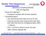 similar time sequences92