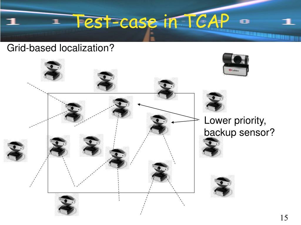 Test-case in TCAP