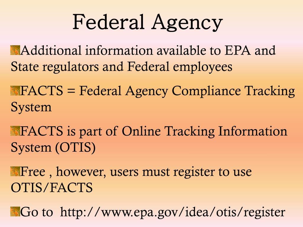 Federal Agency