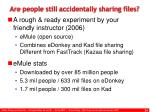 are people still accidentally sharing files