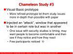 chameleon study 3