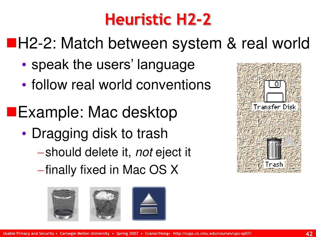 Heuristic H2-2