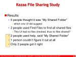 kazaa file sharing study22