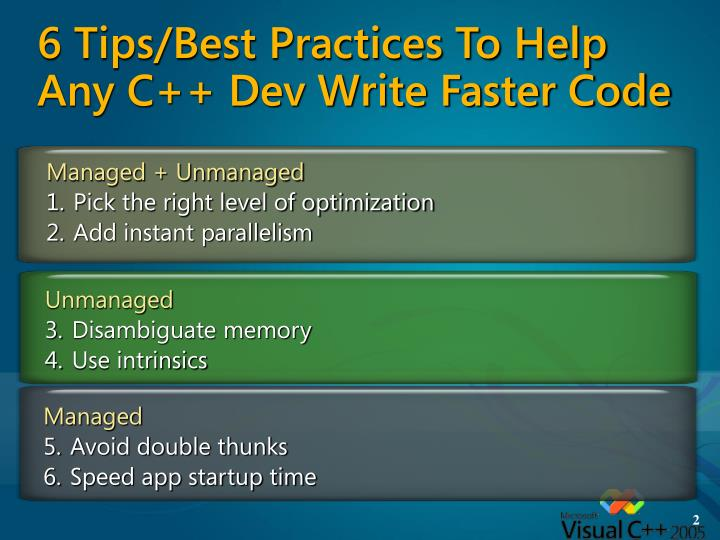 6 tips best practices to help any c dev write faster code