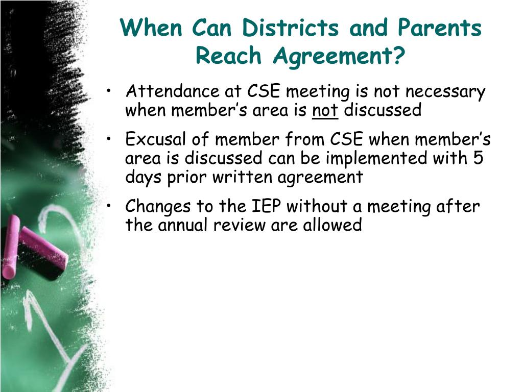 When Can Districts and Parents Reach Agreement?