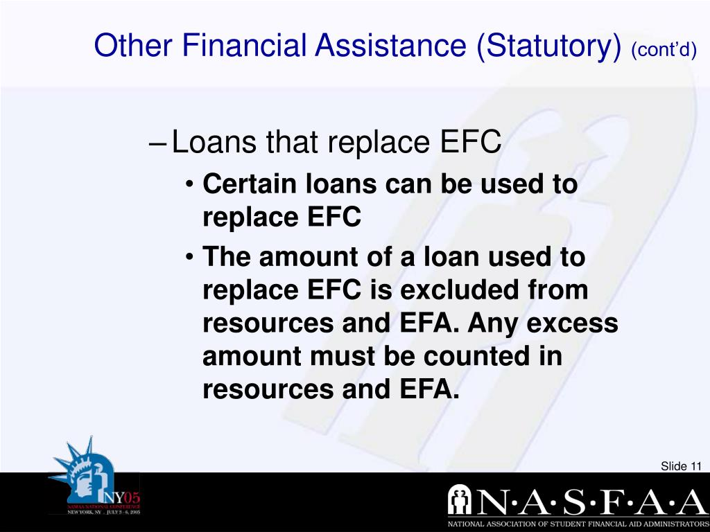 Other Financial Assistance (Statutory)