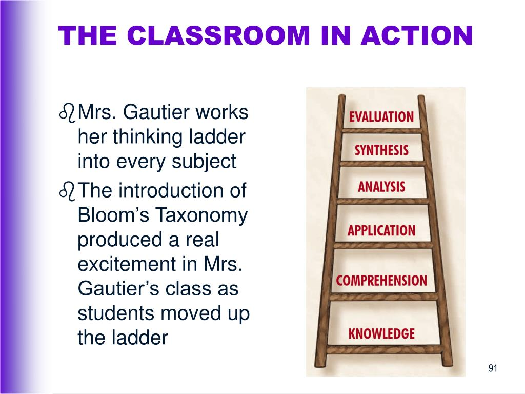 THE CLASSROOM IN ACTION