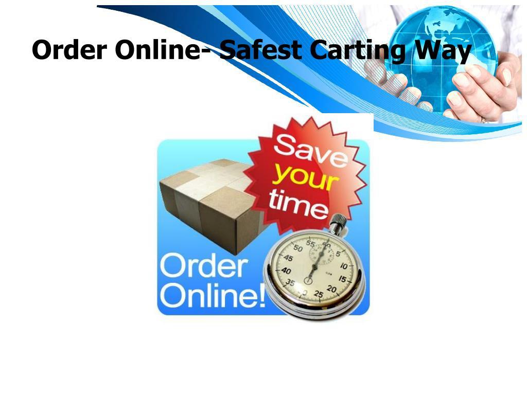 Order Online- Safest Carting Way