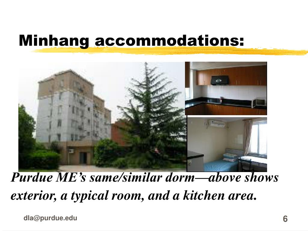Minhang accommodations: