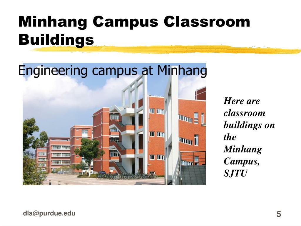 Minhang Campus Classroom Buildings