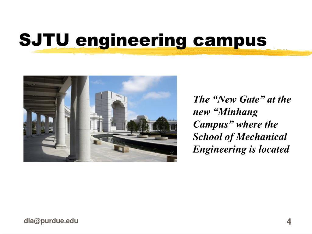 SJTU engineering campus