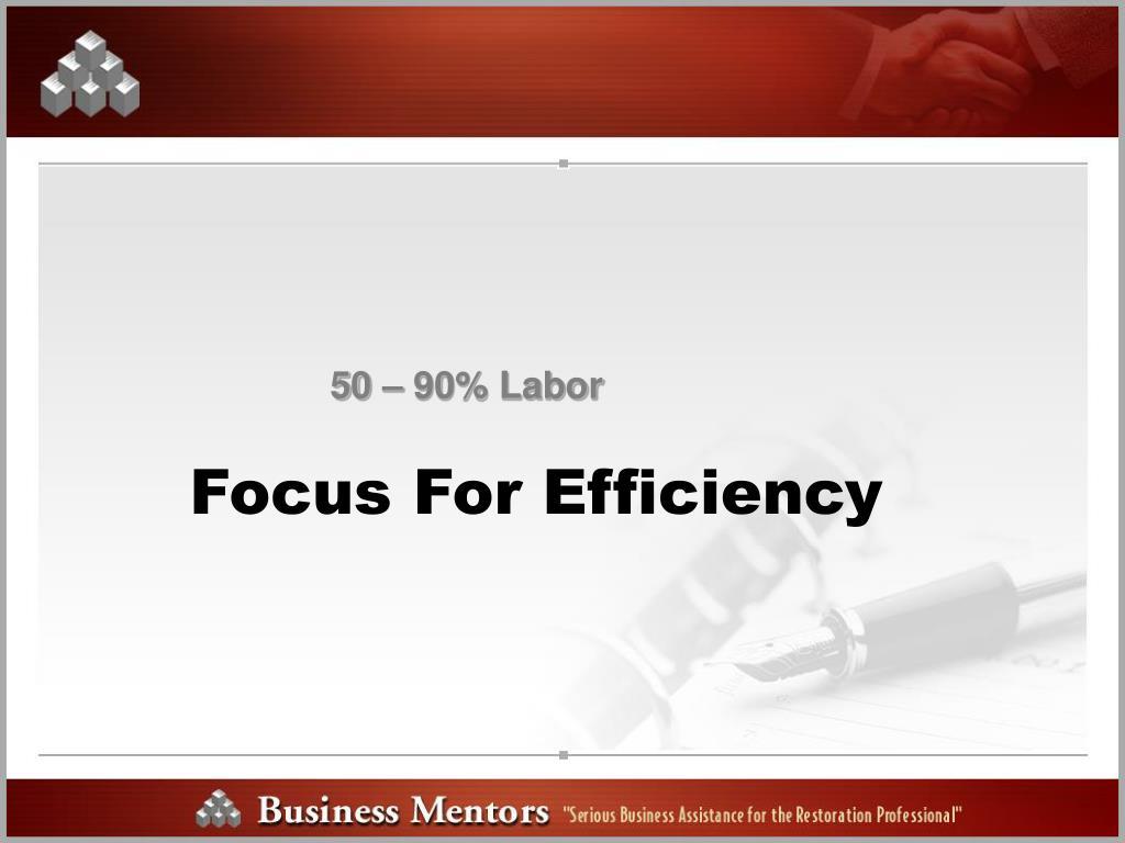 50 – 90% Labor