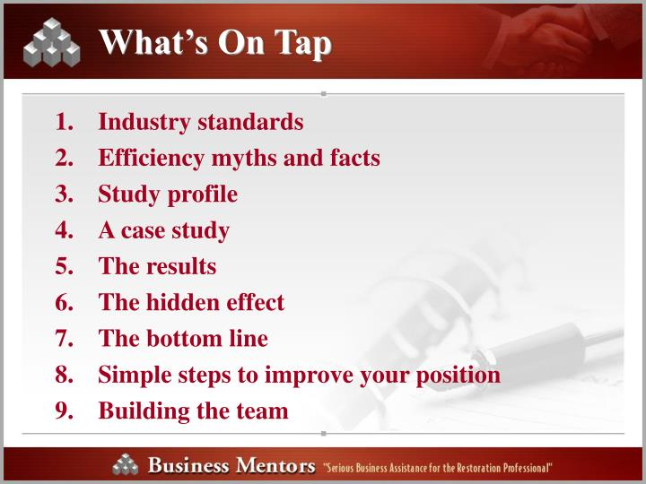 What s on tap