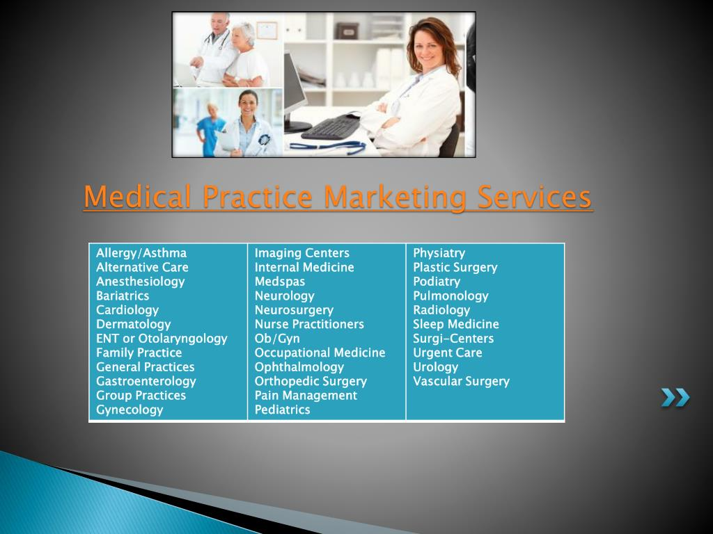 Medical Practice Marketing Services
