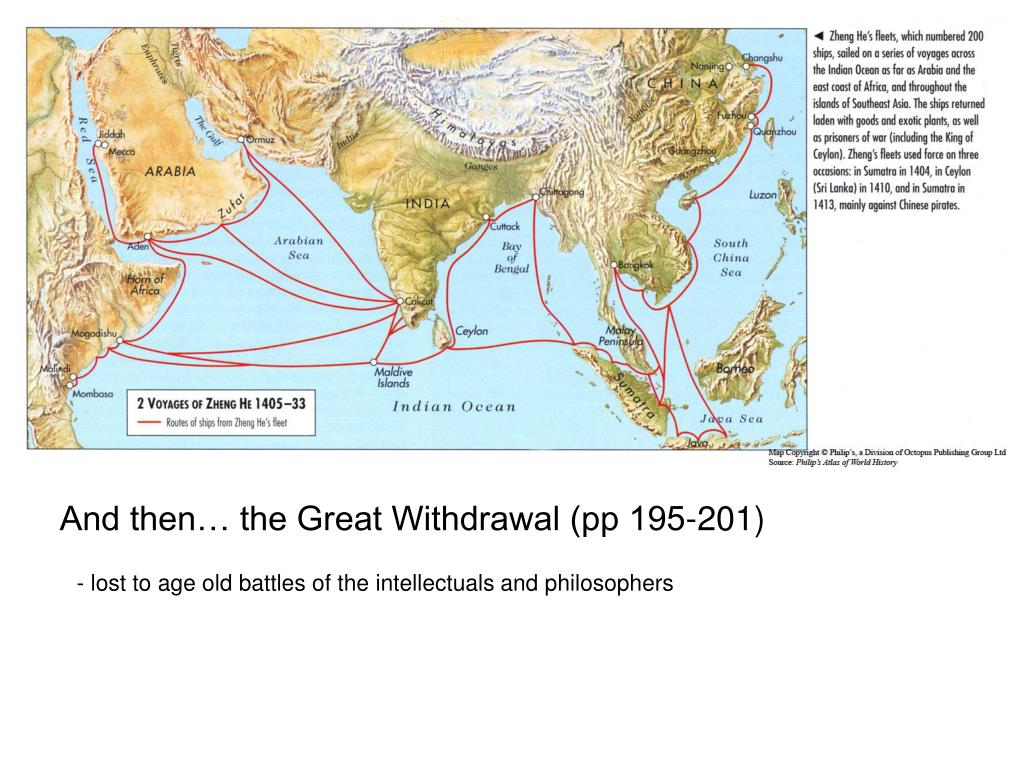 And then… the Great Withdrawal (pp 195-201)