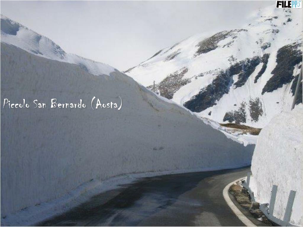 Piccolo San Bernardo (Aosta)