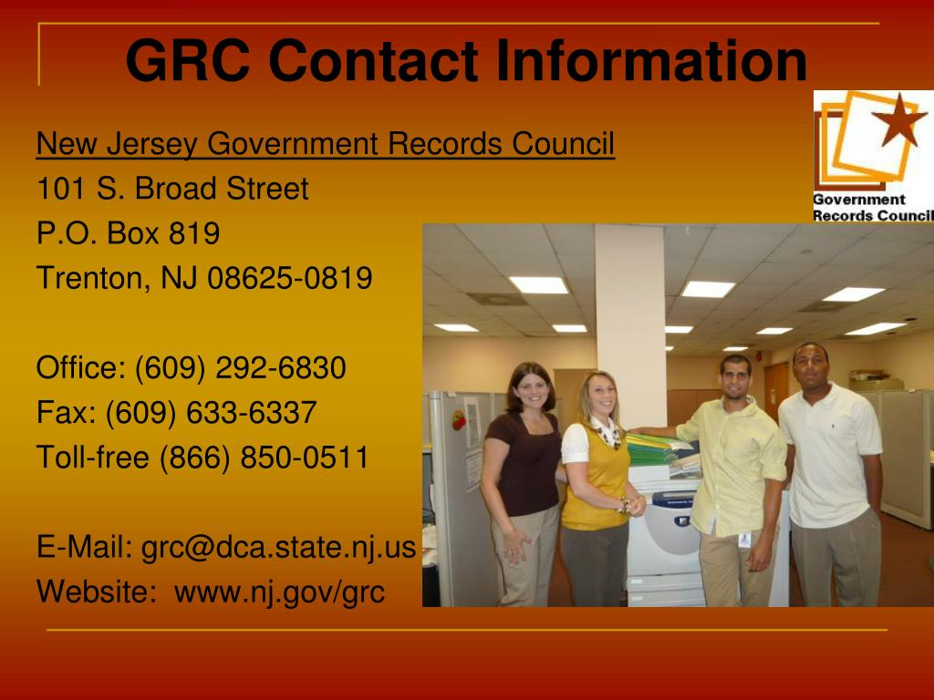 GRC Contact Information