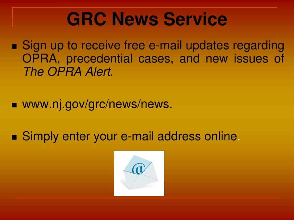 GRC News Service