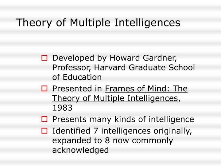 PPT - Multiple Intelligences PowerPoint Presentation - ID:362017