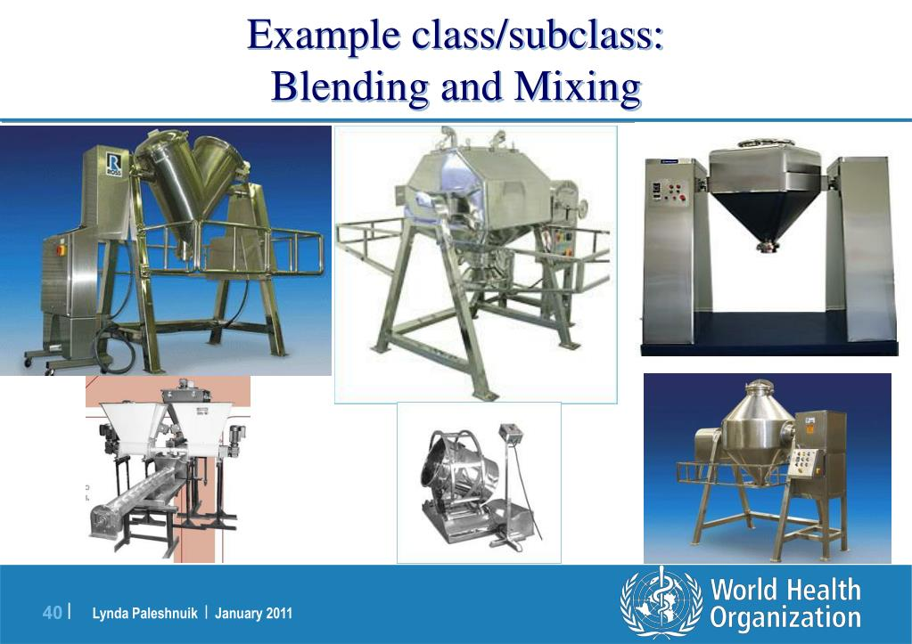 Example class/subclass: