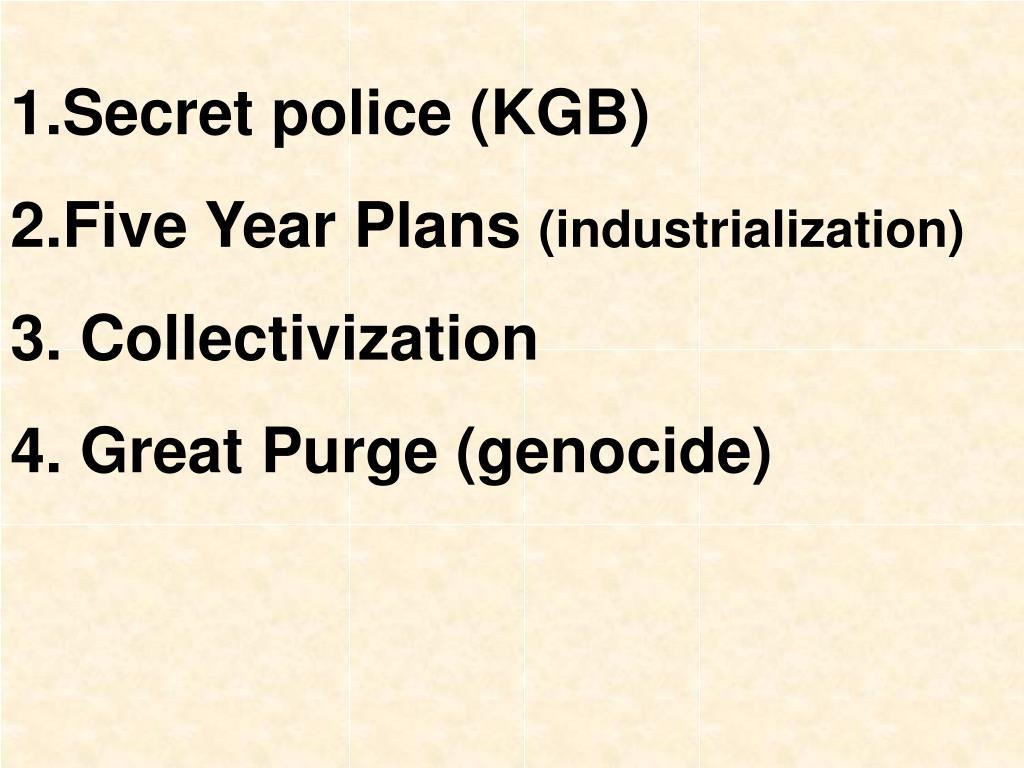 Secret police (KGB)