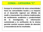 conea categoria c10