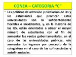 conea categoria c11