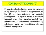 conea categoria c12