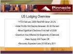 us lodging overview