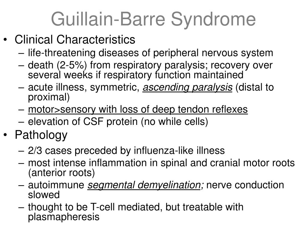 Guillain-Barre Syndrome