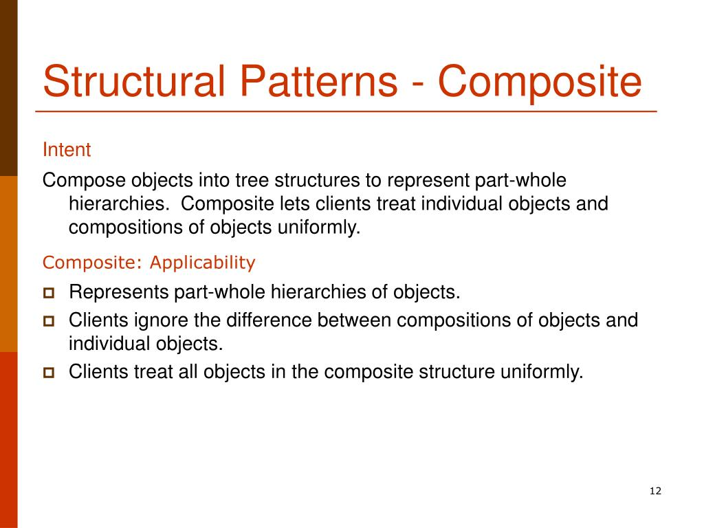 Structural Patterns - Composite