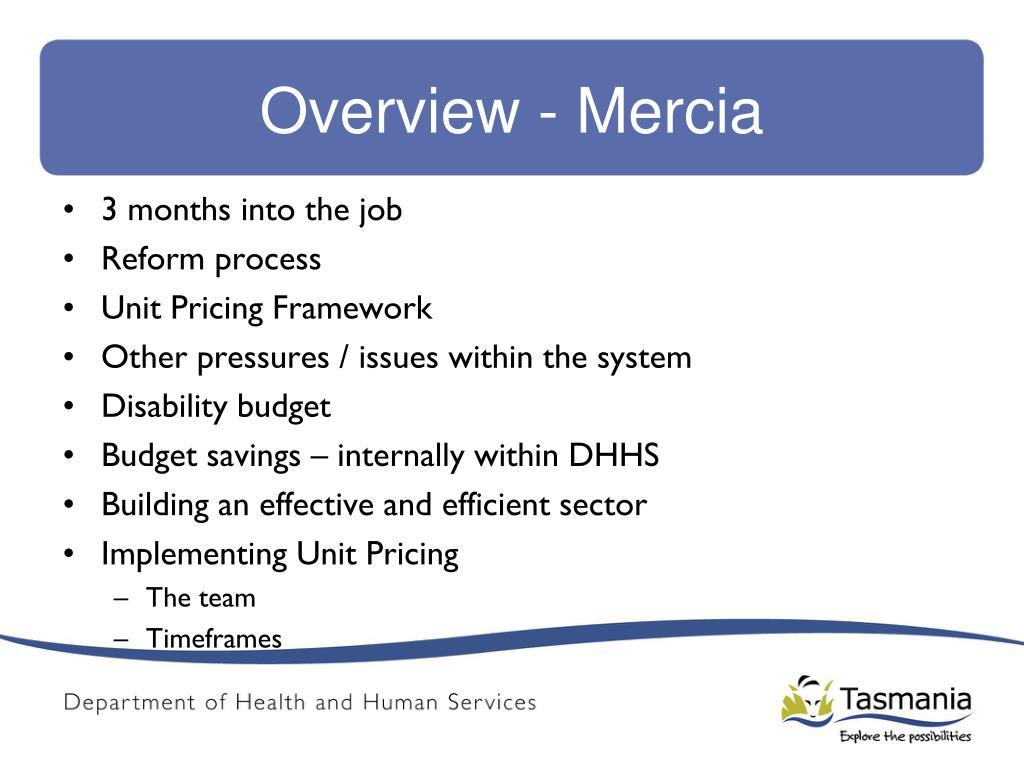 Overview - Mercia