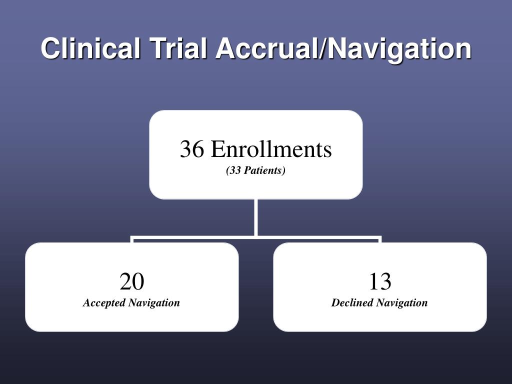 Clinical Trial Accrual/Navigation
