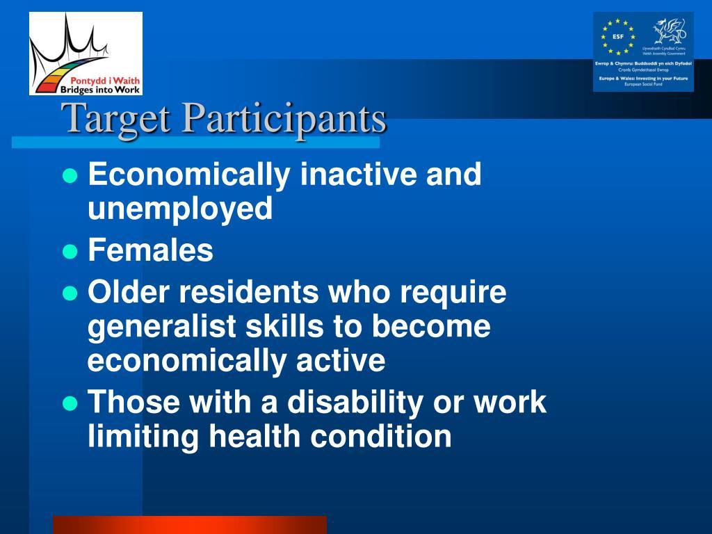 Target Participants