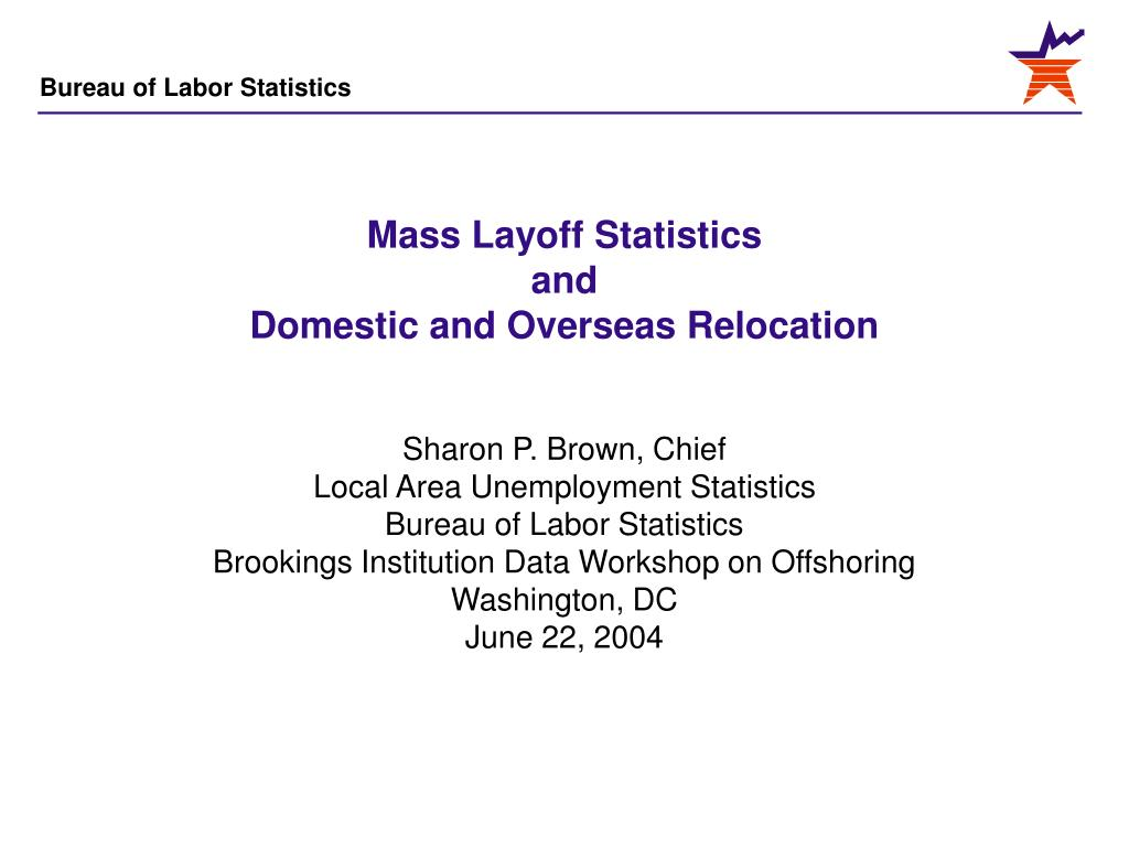 mass layoff statistics and domestic and overseas relocation l.