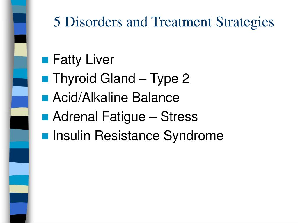 5 Disorders and Treatment Strategies